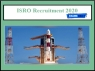 ISRO Recruitment 2020 Registration Begins